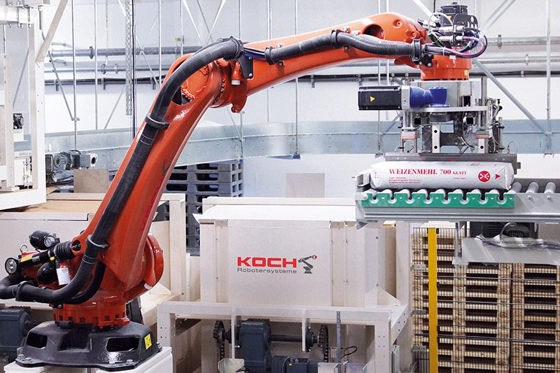 Examples Of Realised Robot Systems Koch Robotersysteme