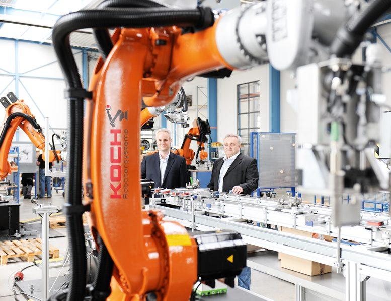 Koch jubil en koch robotersysteme for Koch roboter