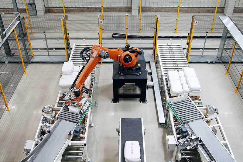 Robot paletyzacja