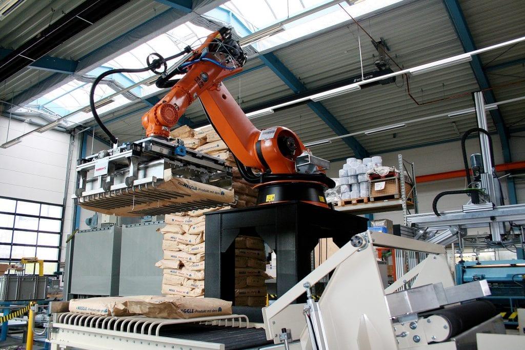 Robot paletyzujący Koch