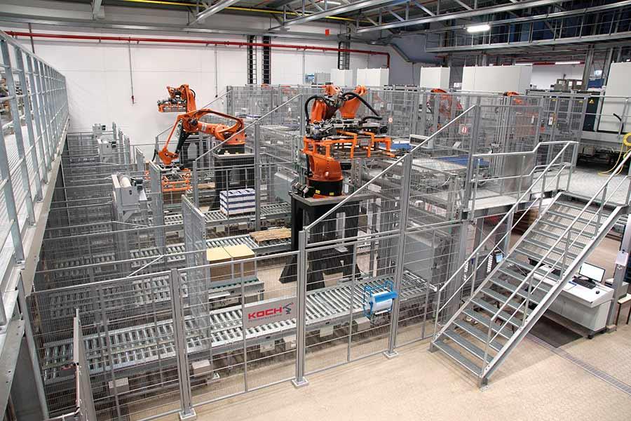 KOCH Anwenderbericht ARLA | Roboterzellen