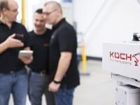 Das KOCH-Service Team steht Ihnen beratend zur Seite.