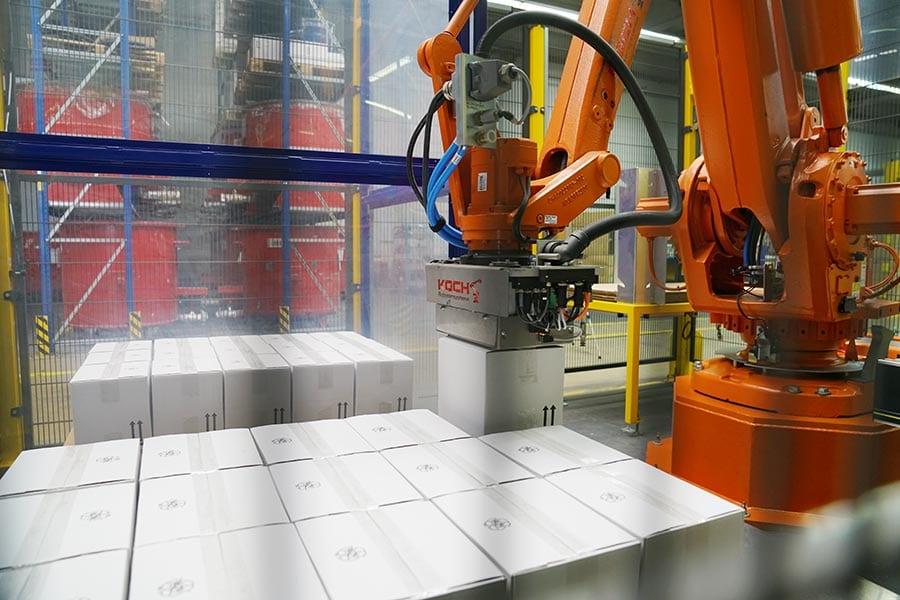 PalletSystem Kartonpalettierung   KOCH Produkte