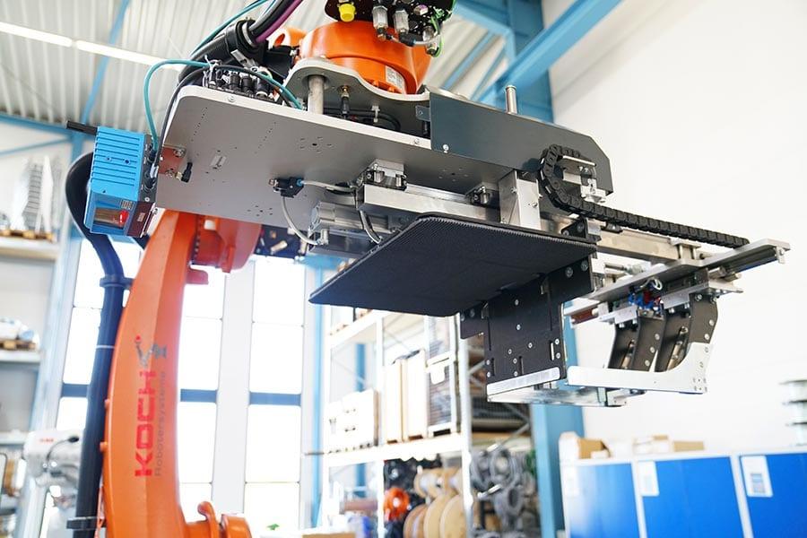 Vision-Systeme sind kleine Kameras, die z.B. am Robotergreifer befestigt werden