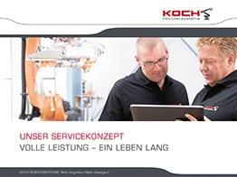 KOCH Service-Broschüre