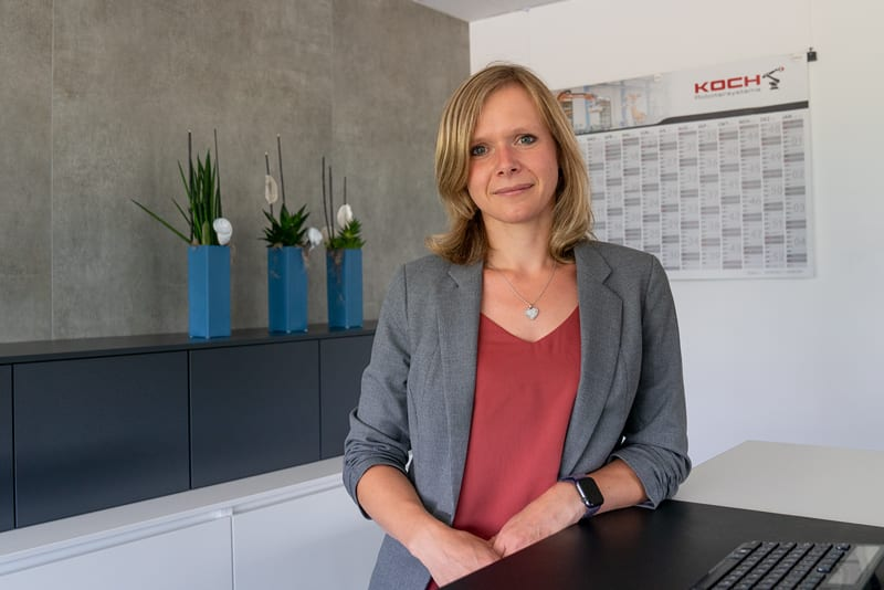 Personalreferentin Christine Noll
