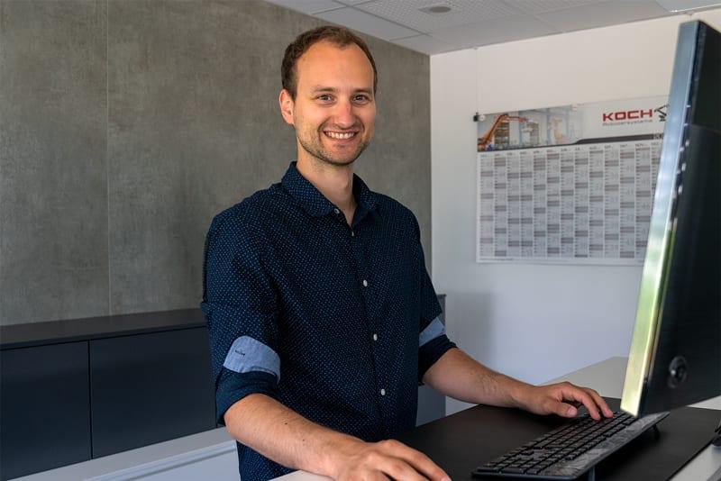 Personalreferent Robert Heinichen